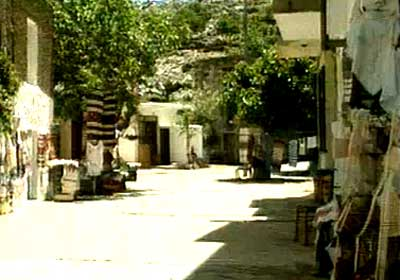 street in anogeia