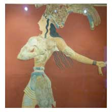 the minoan prince of the lillies